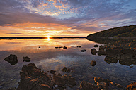 Croatia, Istria, Kamenjak Natural Park, Sunrise on the Adriatic Sea - LOMF00609