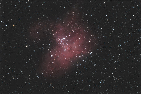 Astronomical photography, M16 eagle nebula - DHCF00150