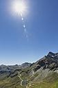 Austria, Grossglockner High Alpine Road, view from Edelweissspitze to Fuscher Lacke - GWF05242