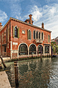 Italy, Venice, building exterior at canal - CSTF01361