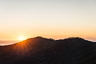 Italy, Liguria, Cinque Terre, coast and Ligurian Sea at sunset - CSTF01372