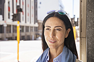 Portrait of a woman in the city - WESTF23533