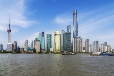 China, Shanghai, skyline of Pudong - THAF01980