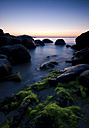 Italy, Sardinia, rocky caost at blue hour - SIPF01663