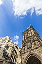 Czech Republic, Prague, old town, powder magazine, city gate - WDF04090
