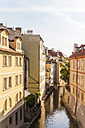 Czech Republic, Prague, Mala Strana, Kampa island, Vltava arm Certovka - WDF04117
