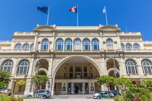 France, Cote d'Azur, Menton, Palais de l'Europe - MAB00457