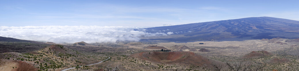 USA, Hawaii, Big Island, Mauna Kea, panoramic view - HLF01021
