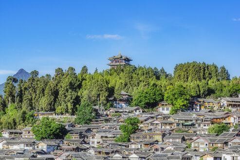China, Yunnan, Lijiang, cityscape - THAF01997