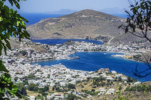 Greece, Patmos, townscape - THAF02030