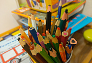 colored pencils, childs corner, Berlin, Germany - NGF00411