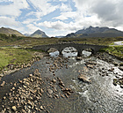 UK, Scotland, Isle of Skye, Sligachan, bridge - CLPF00143