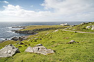 UK, Scotland, Isle of Skye, lighthouse at Neist Point - CLPF00146