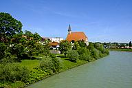 Germany, Bavaria, Laufen upon River Salzach - LBF01647