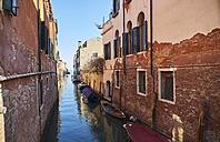 Italy, Venice, Canal in Cannaregio - MRF01719