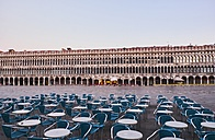 Italy, Venice, Empty St Mark's Square in the early morning - MRF01740