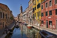 Italy, Venice, Canal in Cannaregio - MR01743