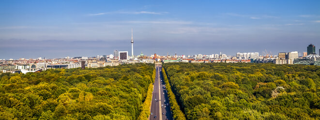 Germany, Berlin, elevated city view from victory column - PUF00723