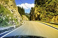 Germany, Bavaria, alpine landscape and road - PUF00736
