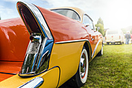Tail of a vintage car - FRF00563