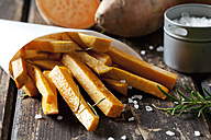 Sweet potato fries with rosmary - CSF28320