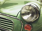 vintage car, headlight - GWF05260