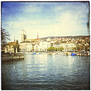 Switzerland, Zurich, view to Great Minster - PUF00752