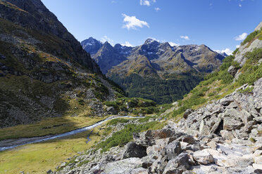 Austria, Tyrol, Oetztal, Gries near Laengenfeld, Winnebach Valley - GFF01036
