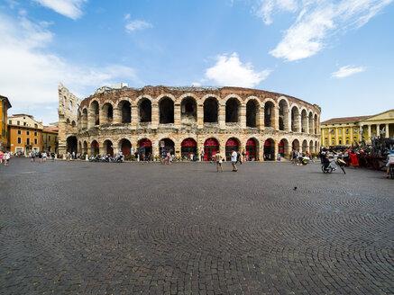 Italy, Verona, Arena di Verona, Piazza Bra - AMF05487