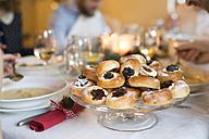 Dessert at Christmas dinner - HAPF02194