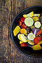 Mediterranean oven vegetables in a bowl - LVF06348