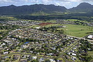 USA, Hawaii, Kauai, Lihue, aerial view - HLF01034