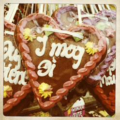 Gingerbread hearts - GWF05302