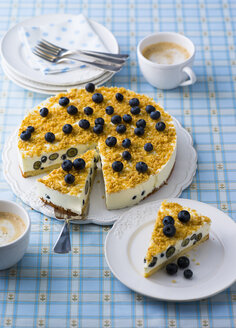 Blueberry cheese cake - PPXF00081