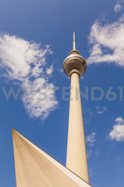 Germany, Berlin, television tower - WDF04172