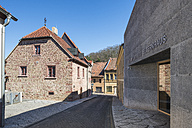 Germany, Mansfeld, view to Luther parents' house and museum - HWOF00234