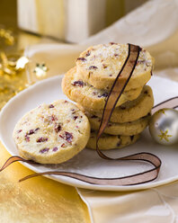 Stack of Cranberry Christmas Cookies - PPXF00125