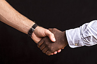 Two men shaking hands, close-up - MMAF00159
