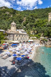 Italiy, Liguria, Golfo del Tigullio, Camogli, Abbey of San Fruttuoso - PUF00848