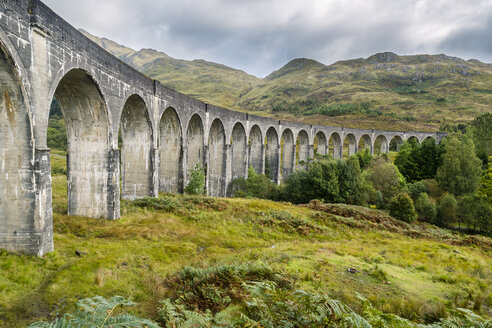 Great Britain, Scotland, Scottish Highlands, Glenfinnan Viaduct - STSF01324