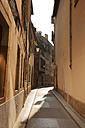 France, Alsace, Strasbourg, old town, small alley - FCF01293