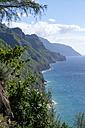 USA, Hawaii, Kauai, Na Pali Coast State Park,  coast - HLF01050