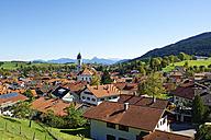 Germany, Bavaria, Swabia, Allgaeu, East Allgaeu, Nesselwang - LHF00542