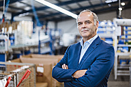 Portrait of business founder in his comapy - DIGF02980