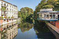 Germany, Hamburg, Eppendorf, Isebek canal - KEBF00660
