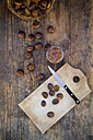 Sweet chestnuts, roasted and sweet chestnut cream - LVF06361