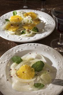 Sicilian fennel salad, orange, mint, red pepper, red wine - CSTF01444