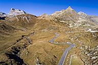 Switzerland, Grisons, Swiss Alps, Parc Ela, Julier pass, aerial view - STSF01336