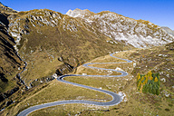 Switzerland, Grisons, Swiss Alps, Parc Ela, Julier pass, aerial view - STSF01339