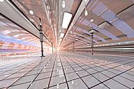 3D rendered illustration, futuristic interior architecture - SPCF00258